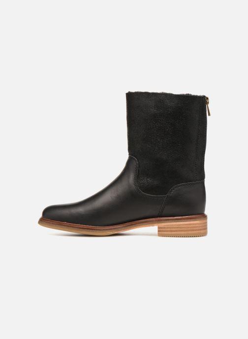 Bottines et boots Clarks Clarkdale Axel Noir vue face