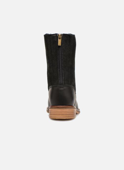Bottines et boots Clarks Clarkdale Axel Noir vue droite