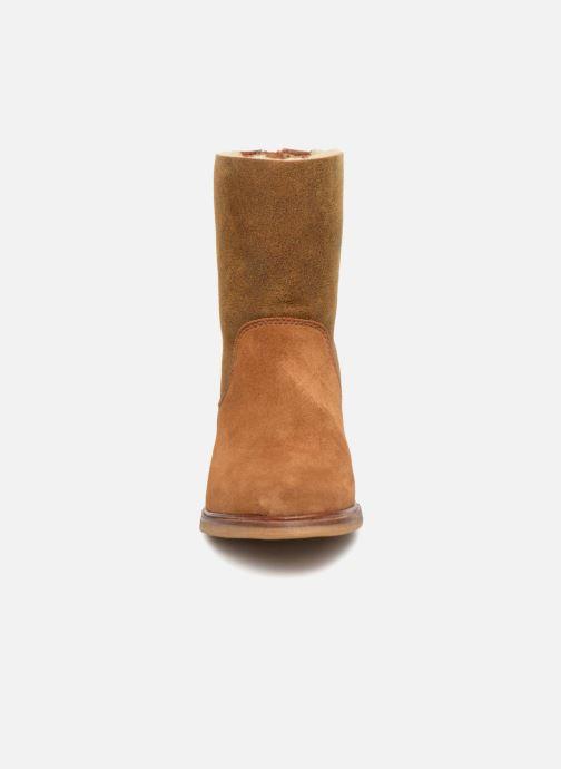 Bottines et boots Clarks Clarkdale Axel Marron vue portées chaussures