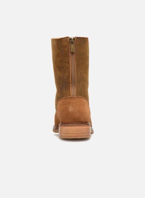 Bottines et boots Clarks Clarkdale Axel Marron vue droite
