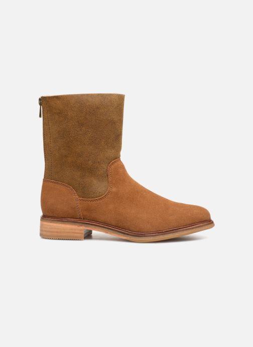 Bottines et boots Clarks Clarkdale Axel Marron vue derrière