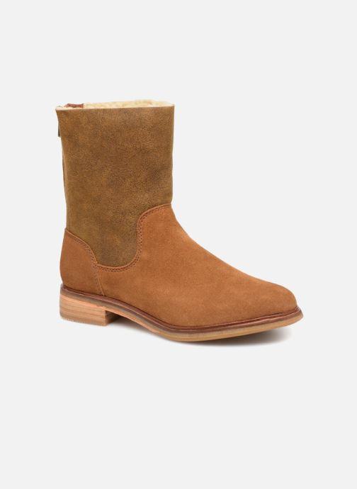 Bottines et boots Clarks Clarkdale Axel Marron vue détail/paire