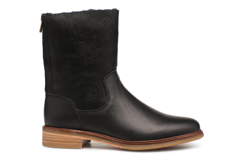 Bottines et boots Clarks Clarkdale Axel Noir vue derrière