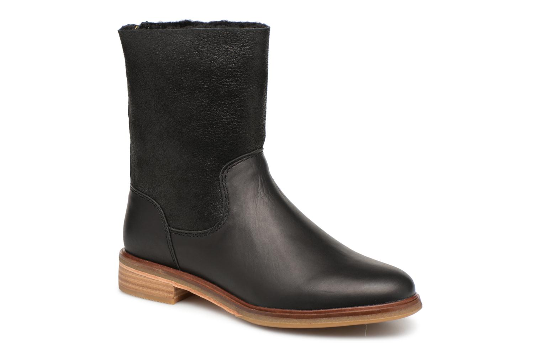 Bottines et boots Clarks Clarkdale Axel Noir vue détail/paire