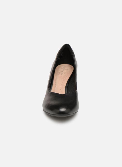 Escarpins Clarks Dancer Nolin Noir vue portées chaussures