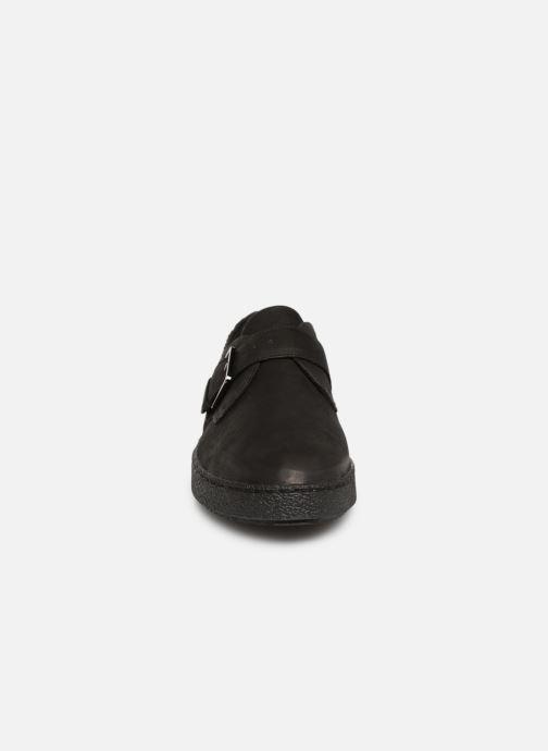 Slipper Clarks Lillia Amber schwarz schuhe getragen