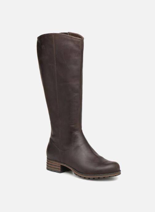 Støvler & gummistøvler Clarks Marana Trudy Brun detaljeret billede af skoene
