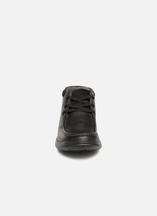 Bottines et boots Clarks Cotrell Top Noir vue portées chaussures