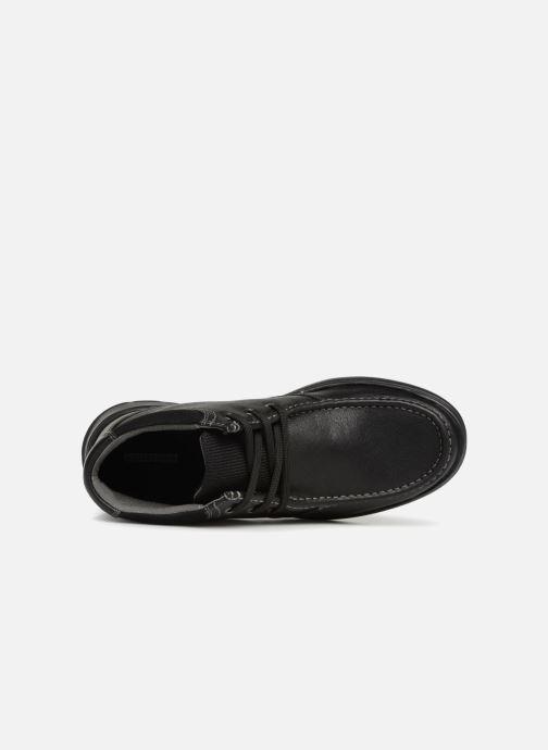 Bottines et boots Clarks Cotrell Top Noir vue gauche