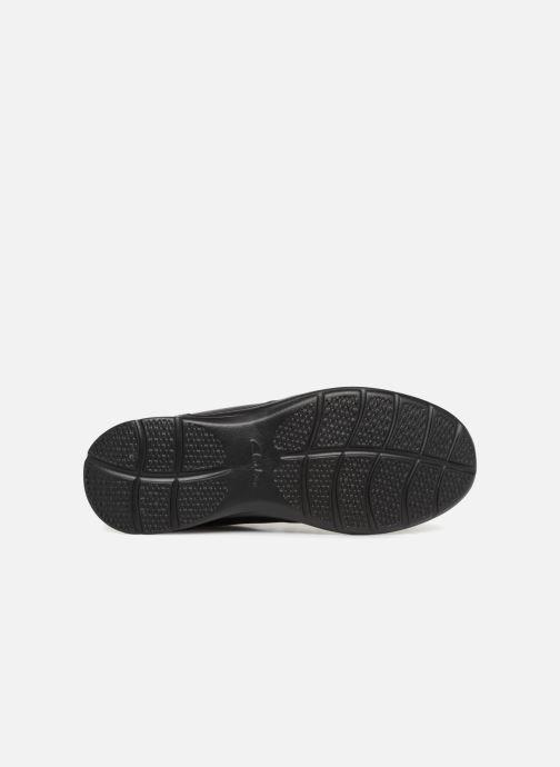 Bottines et boots Clarks Cotrell Top Noir vue haut