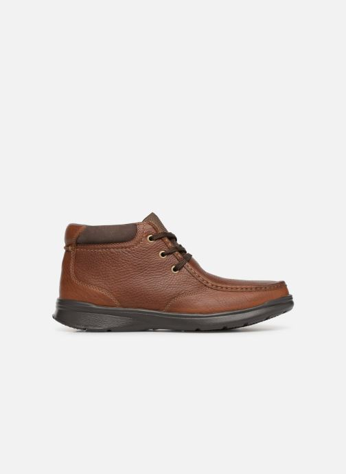 Ankle boots Clarks Cotrell Top Brown back view