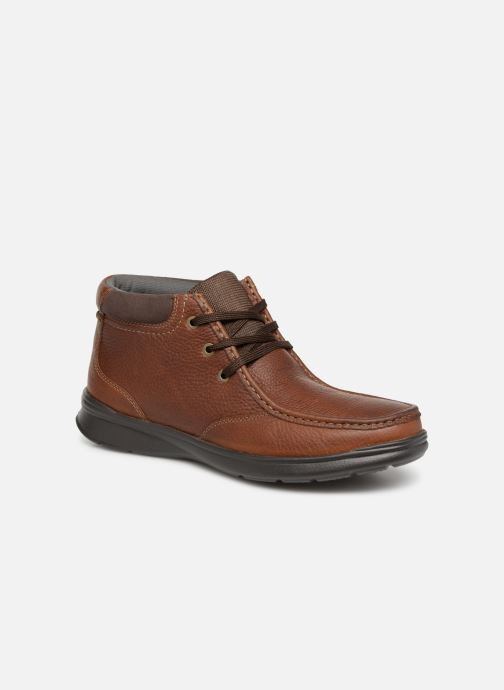 Ankle boots Clarks Cotrell Top Brown detailed view/ Pair view
