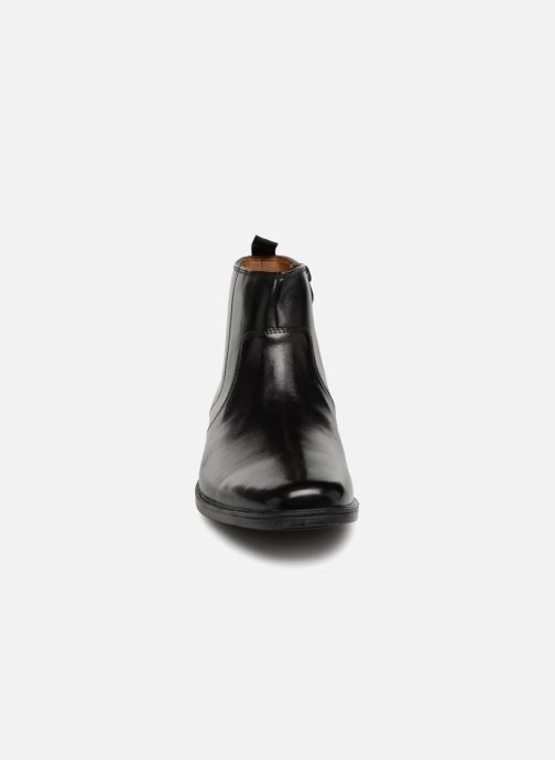 Bottines Et Clarks Zip Tilden Boots Black Leather exBodrC