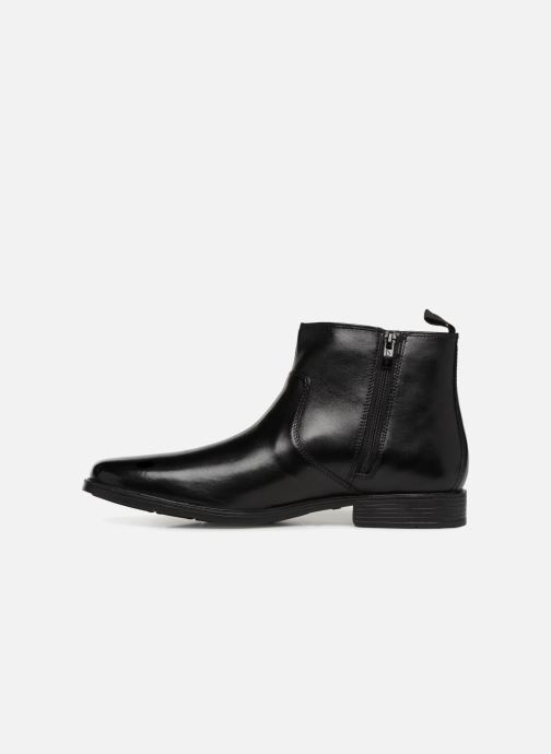 Bottines et boots Clarks Tilden Zip Noir vue face