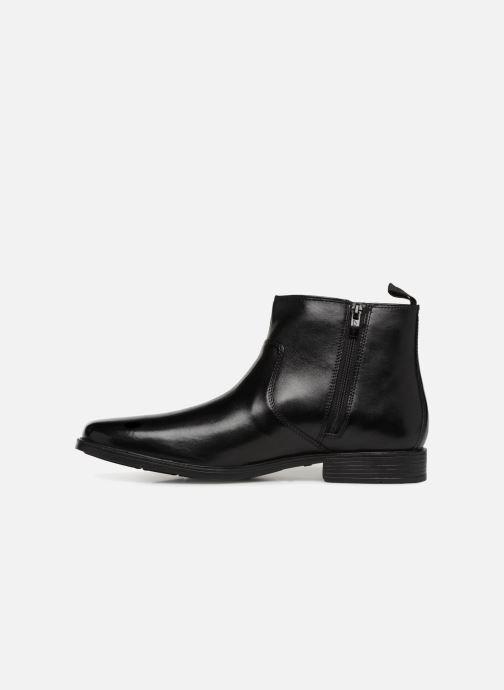 Bottines et boots Clarks Tilden Zip Noir vue face