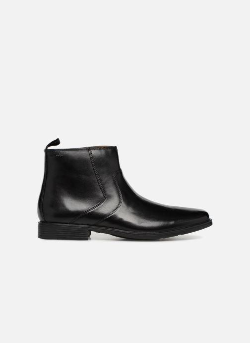 Bottines et boots Clarks Tilden Zip Noir vue derrière