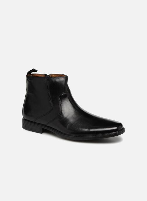 Bottines et boots Clarks Tilden Zip Noir vue détail/paire