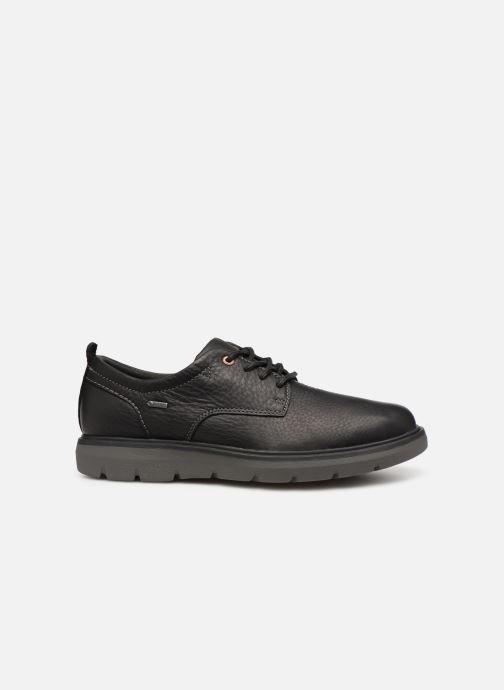 Chaussures à lacets Clarks Unstructured Un Map Lo GTX Noir vue derrière
