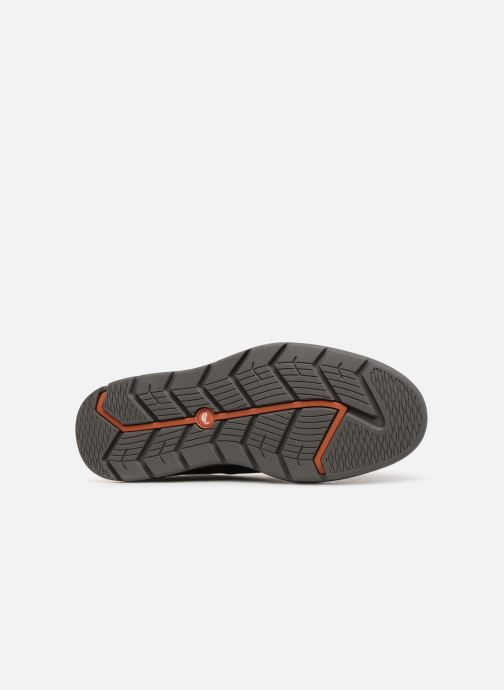 Lace-up shoes Clarks Unstructured Un Map Lo GTX Black view from above