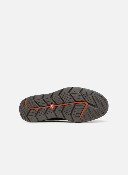 Chaussures à lacets Clarks Unstructured Un Map Lo GTX Noir vue haut