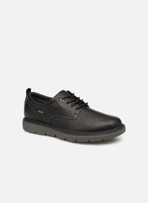 Chaussures à lacets Clarks Unstructured Un Map Lo GTX Noir vue détail/paire