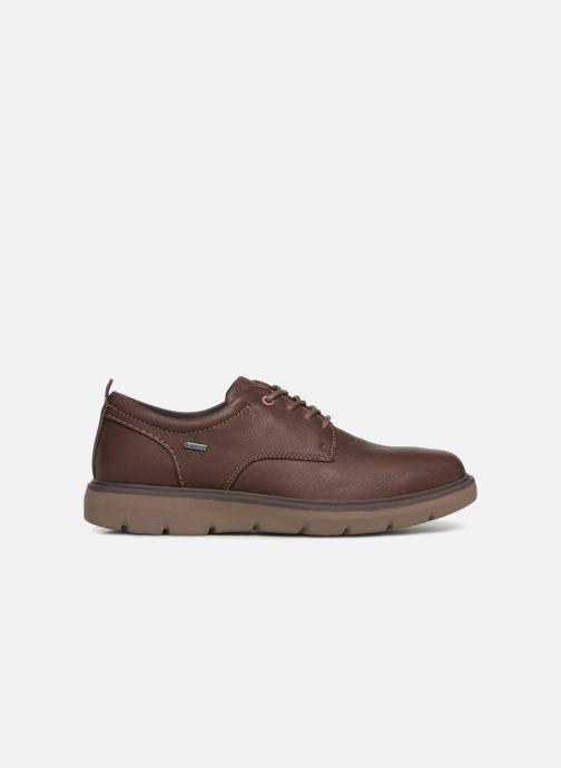 Chaussures à lacets Clarks Unstructured Un Map Lo GTX Marron vue derrière