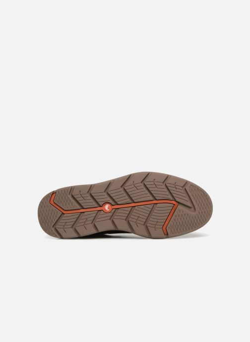 Chaussures à lacets Clarks Unstructured Un Map Lo GTX Marron vue haut