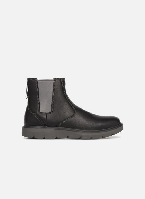 Botines  Clarks Unstructured Un Map Up Negro vistra trasera