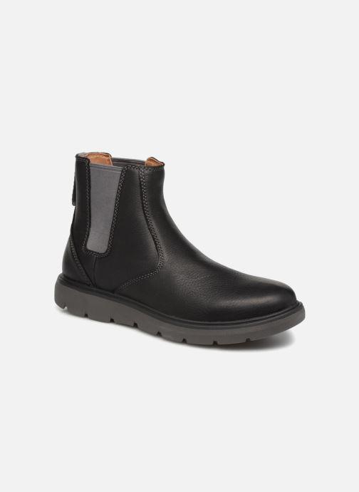 Bottines et boots Clarks Unstructured Un Map Up Noir vue détail/paire