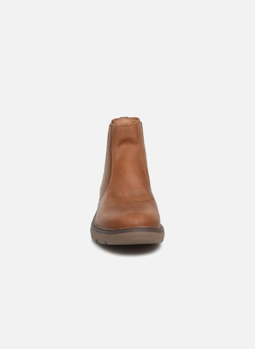 Ankle boots Clarks Unstructured Un Map Up Brown model view