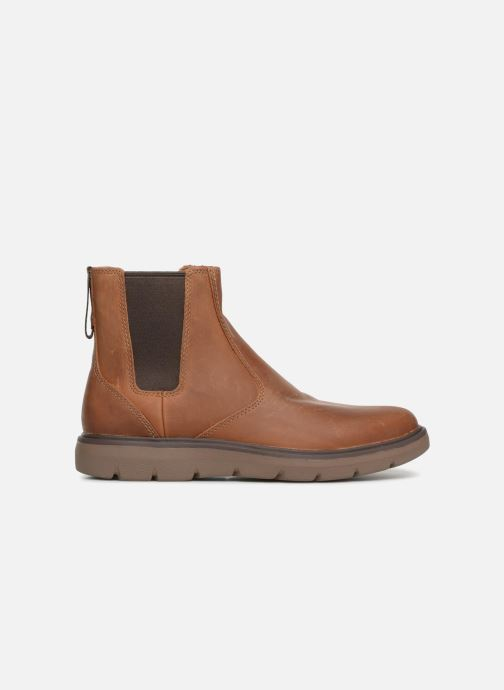 Ankle boots Clarks Unstructured Un Map Up Brown back view
