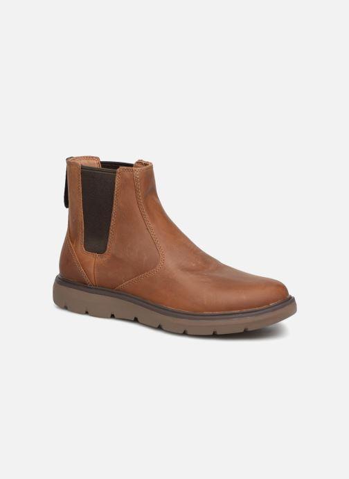 Bottines et boots Clarks Unstructured Un Map Up Marron vue détail/paire
