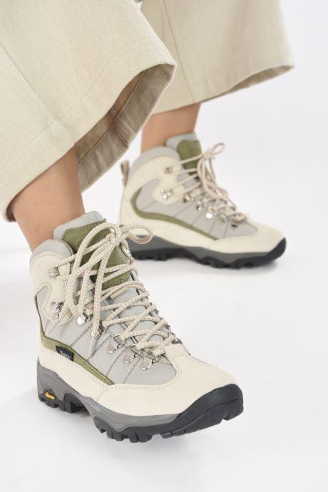 Chaussures de sport Kimberfeel Denali W Beige vue bas / vue portée sac