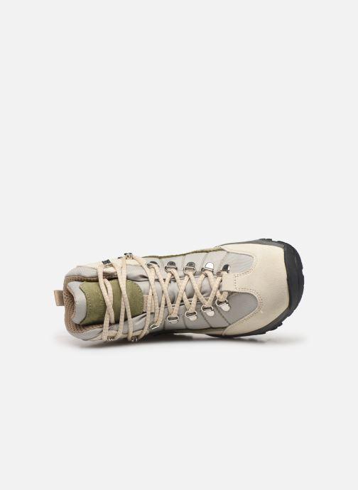 Zapatillas de deporte Kimberfeel Denali W Beige vista lateral izquierda
