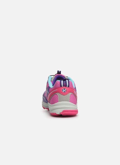 Chaussures de sport Kimberfeel Rimo Rose vue droite