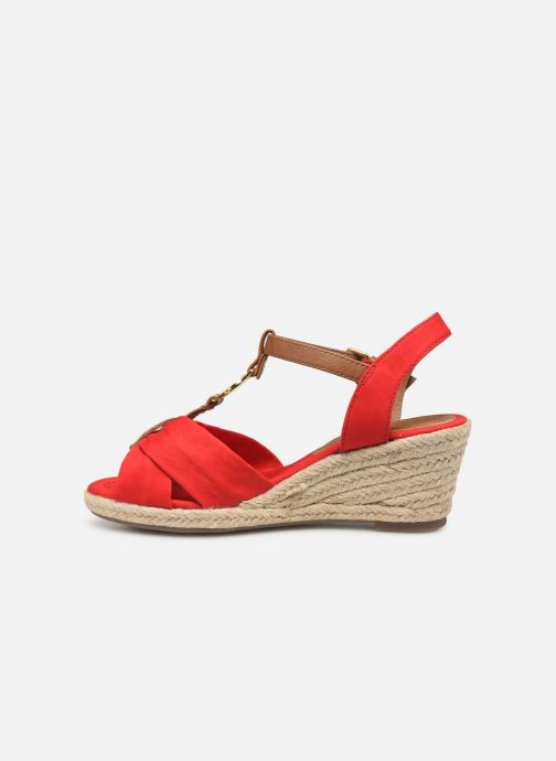 Espadrilles Tom Tailor Norita Red front view