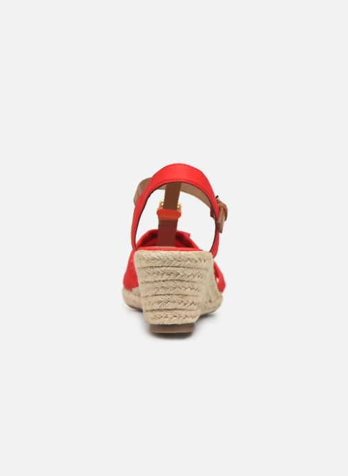 Espadrilles Tom Tailor Norita Red view from the right