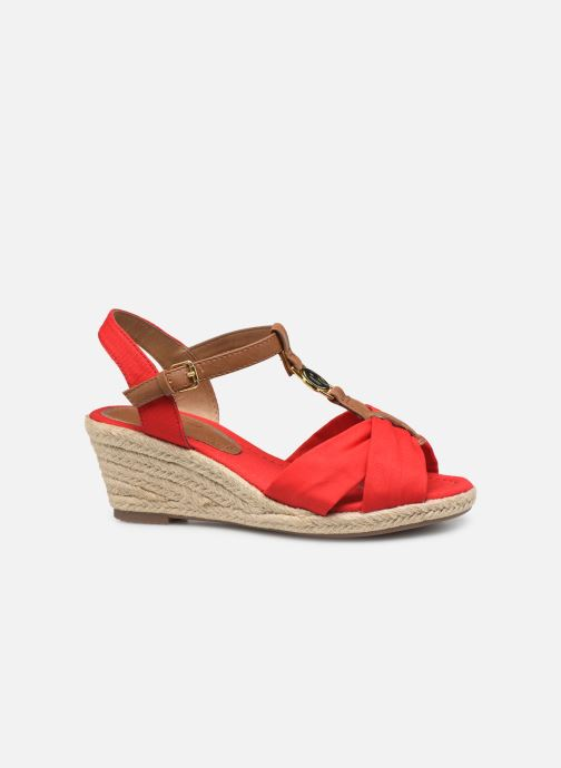 Espadrilles Tom Tailor Norita Red back view