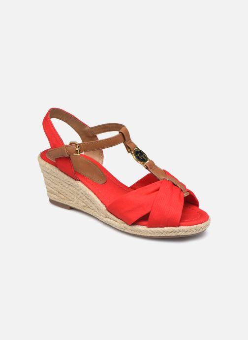 Espadrilles Tom Tailor Norita Red detailed view/ Pair view