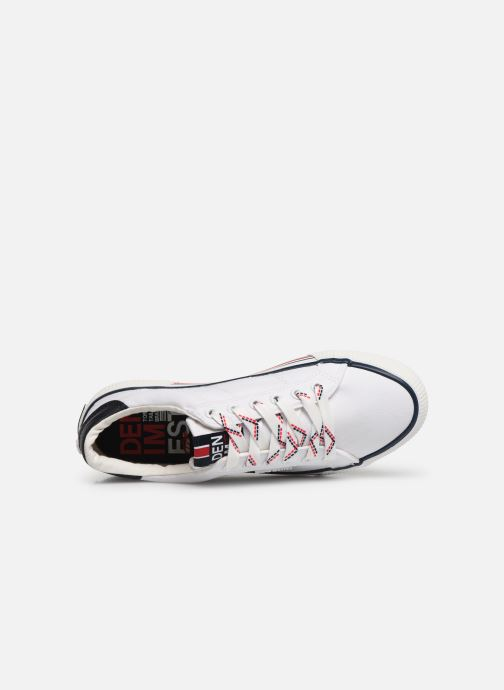 Sneakers Tom Tailor Erna 1 Wit links