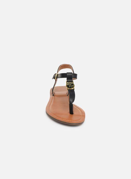 Sandalen Tom Tailor Erna blau schuhe getragen