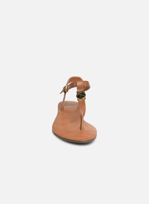 Sandales et nu-pieds Tom Tailor Erna Marron vue portées chaussures