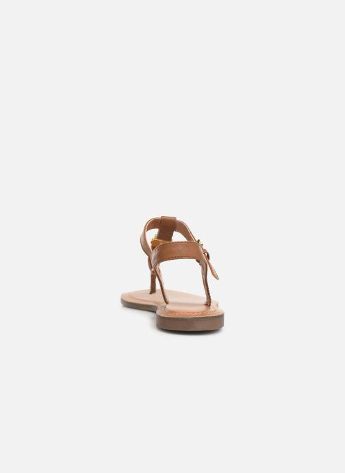 Sandales et nu-pieds Tom Tailor Erna Marron vue droite