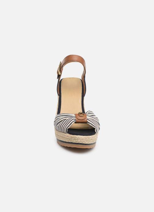 Espadrilles Tom Tailor Yolande Bleu vue portées chaussures