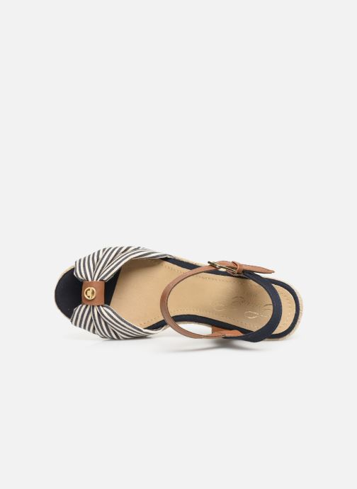 Espadrilles Tom Tailor Yolande Blauw links