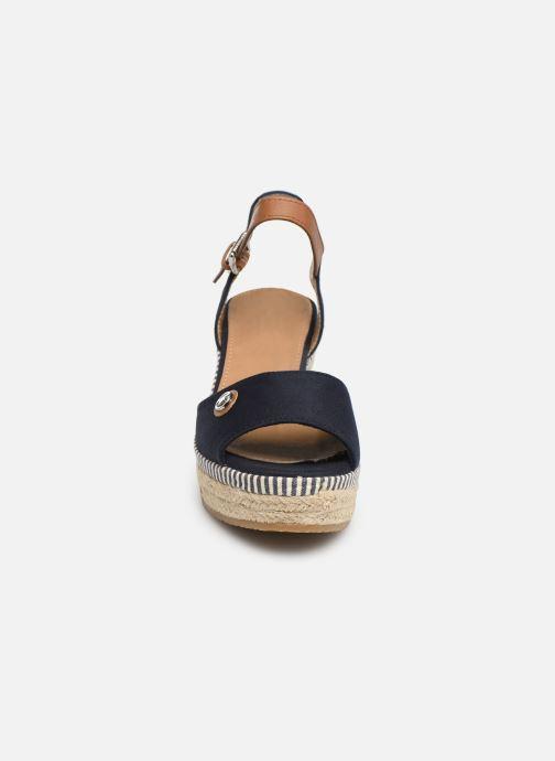 Espadrilles Tom Tailor Lucette Bleu vue portées chaussures