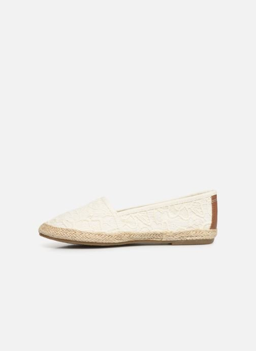 Espadrilles Tom Tailor Minna Blanc vue face