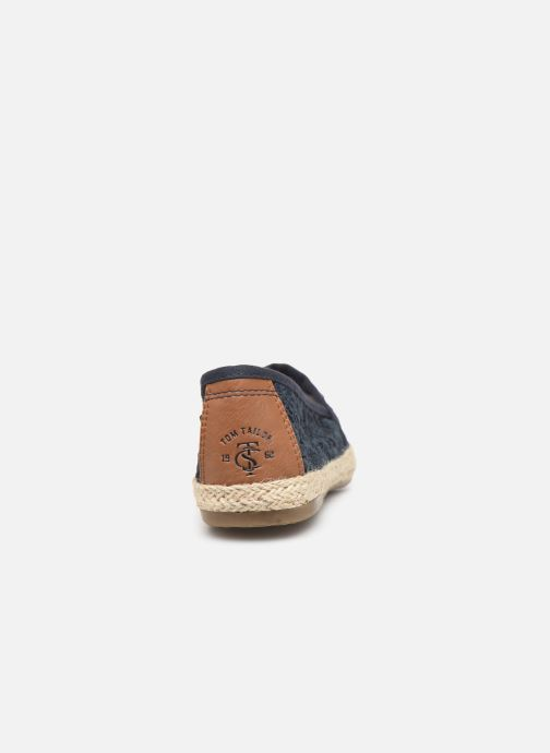Espadrilles Tom Tailor Minna Blue view from the right