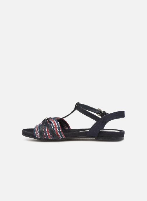 Sandalen Tom Tailor Mariele Blauw voorkant