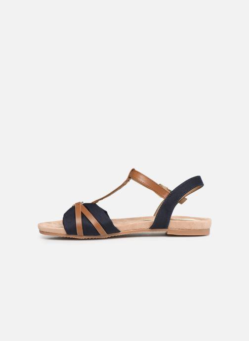 Sandalen Tom Tailor Leonore blau ansicht von vorne